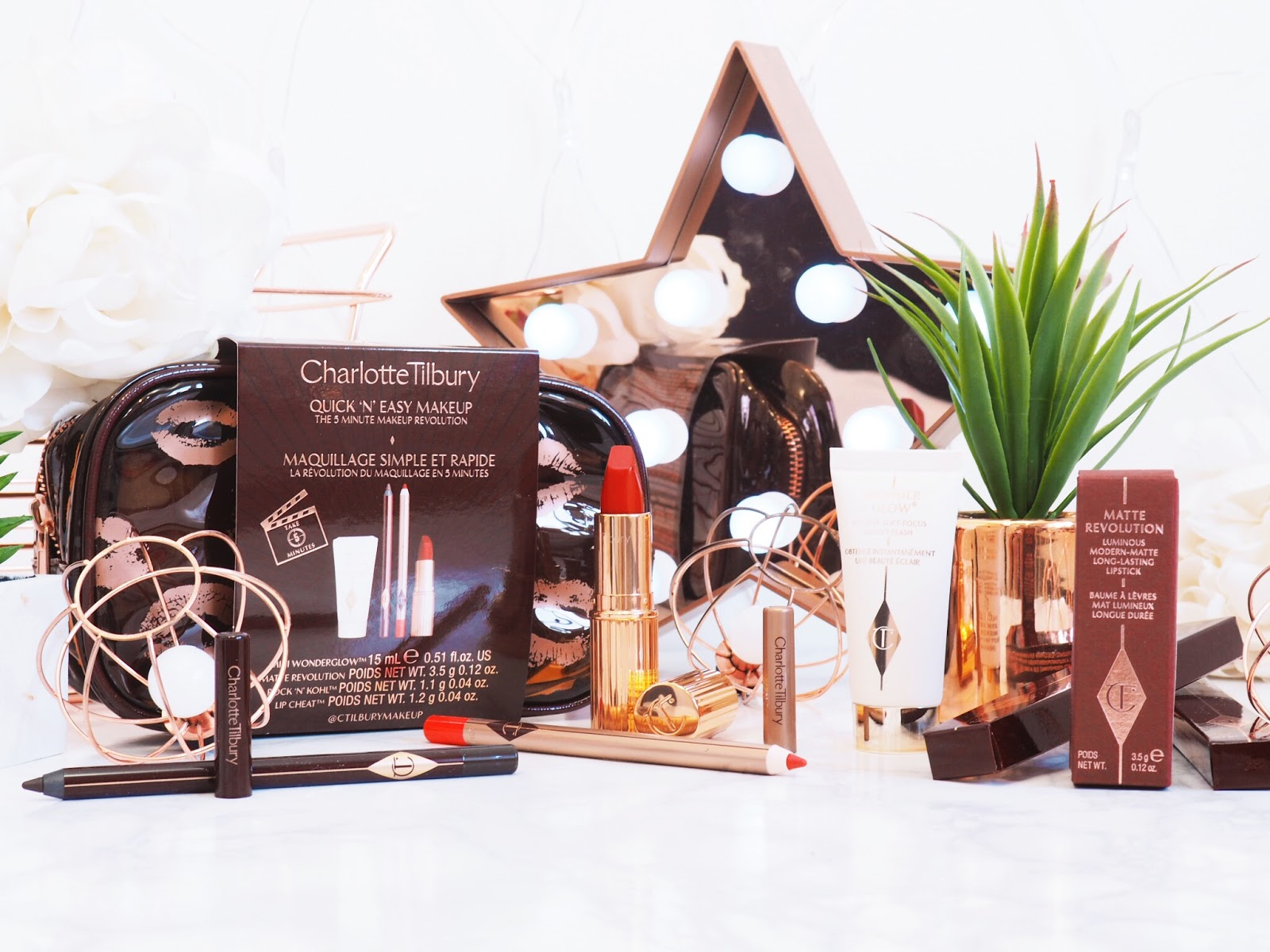 Ikonische Kosmetikprodukte von Charlotte Tilbury: Beauty Icons Gift Set